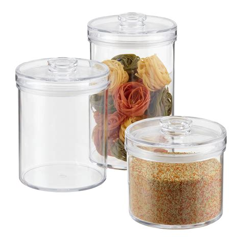 clear plastic kitchen canisters 22 kitchen plastic storage southernspreadwingcom rubber