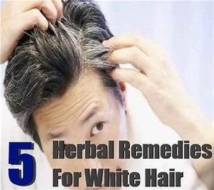 Top 5 Herbal Remedies For White Hair White Hair
