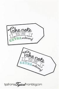 Say QuotThank Youquot With Extra Gum Free Printable Gift Tag