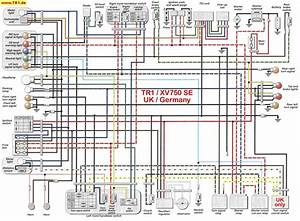Virago 920 Bobber Wiring
