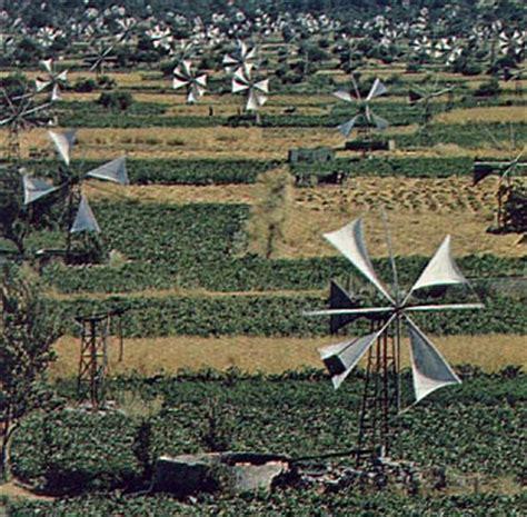 Ветровые электростанции . Конструкция ветрогенератора