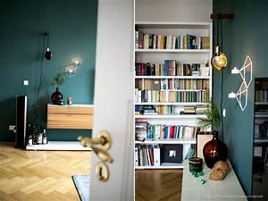Wandfarbe Grau Grün : wandfarben in dunkelgr n kolorat ~ Michelbontemps.com Haus und Dekorationen