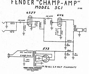 Fender Champ 5c1 Wiring Diagram