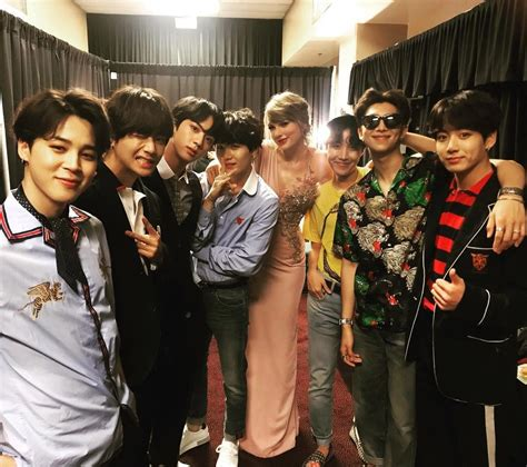 Proof Celebs Weren't Immune to the Star Power of BTS at ...