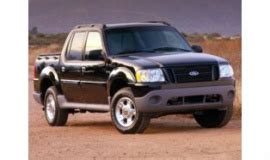 ford explorer sport trac curb weight  years  trims