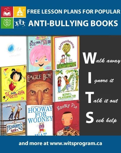 free lesson plans for popular anti bullying books the 805   5e47819c73b1e4941899a64ae307f2db