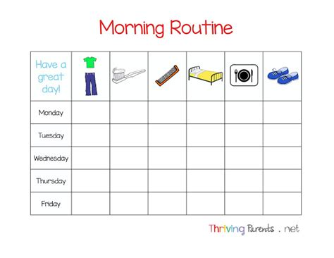 5 Tips For A Morning Routine That Works (printable