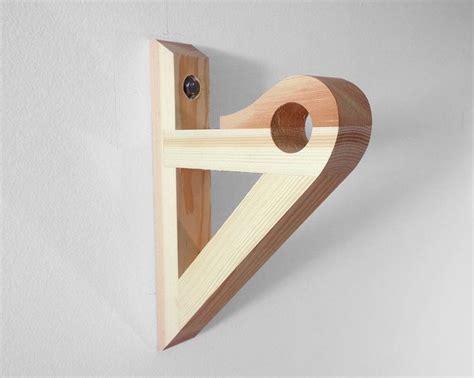 1000 ideas about curtain rod brackets on wood