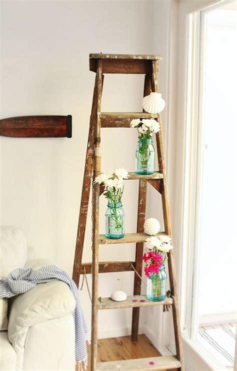 vintage ladders  interior ideas home design