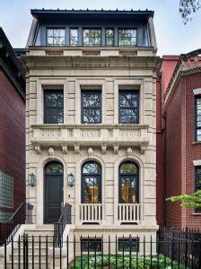 elegant classical townhouse lincoln park chicago