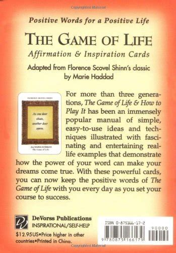 The Game of Life Affirmation & Inspiration Cards   Buy