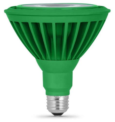 led par38 green flood light bulbs come in bright green color