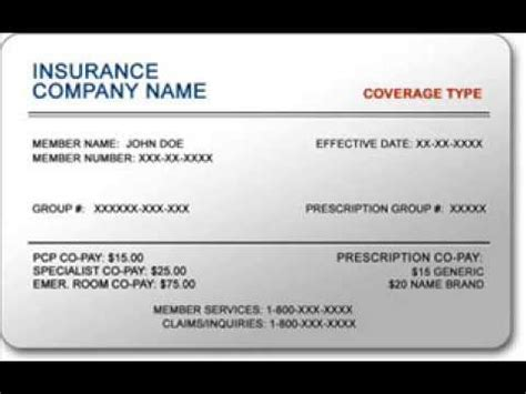 insurance cards  small business youtube