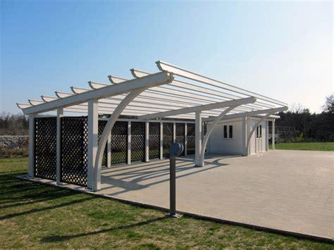 tettoia legno auto tettoia per auto in legno rb04110