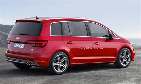 Fresh Renderings Of Audibadged Compact Minivan