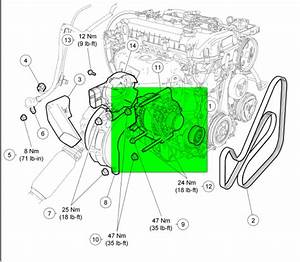 Changing The Alternator On 2006 Focus  Directions Say If