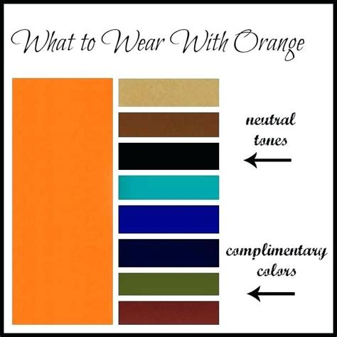 What Colors Go With Orange Magazynco