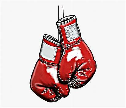 Boxing Gloves Clipart Hanging Glove Flag American
