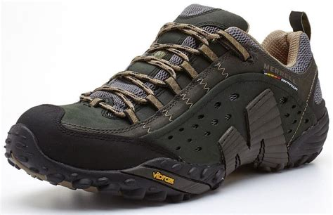 Merrell Men's Intercept Shoes Smooth Black J73703
