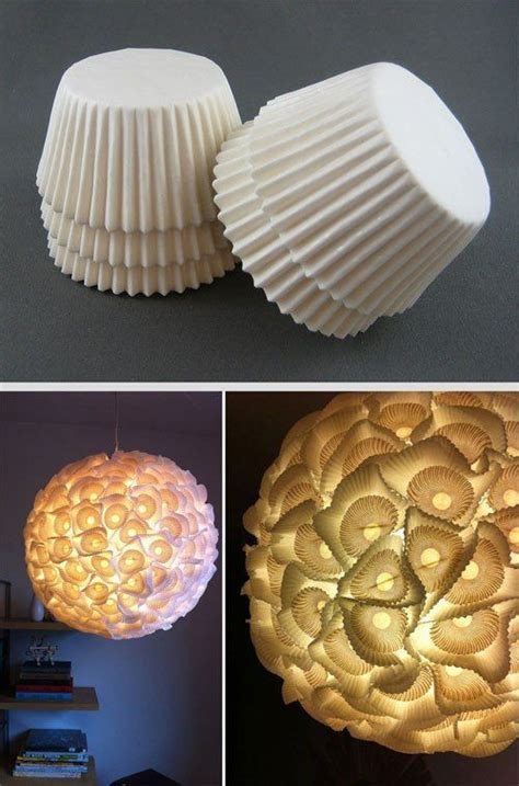 diy lamps  chandeliers   recycled everyday