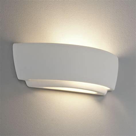 astro lighting 7075 kyo white ceramic wall light
