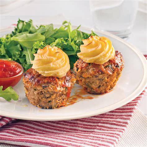cuisine viande petits pains de viande style cupcake recettes cuisine