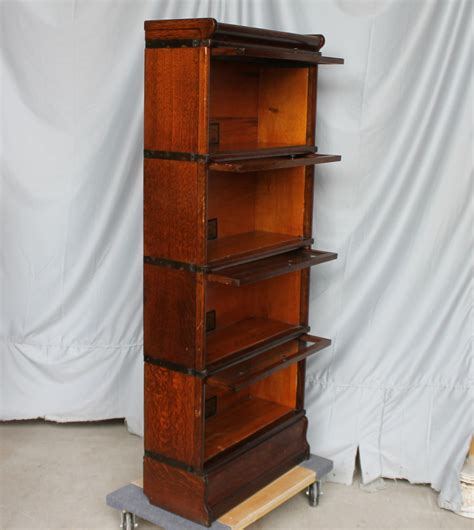 25 Inch Bookcase by Bargain S Antiques Antique 3 4 Size Quarter Sawn