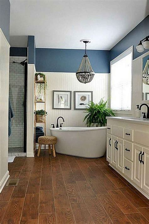 Master Bathroom Decor Ideas by 65 Farmhouse Master Bathroom Remodel Decor Ideas