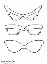 Sunglasses Coloring Printcolorfun sketch template
