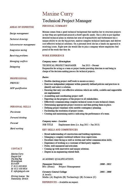 28 project manager skill set resume project manager