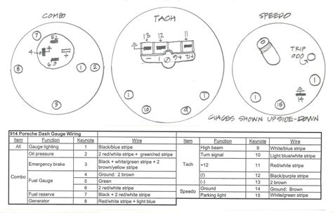 1975 911 Tach Wiring Diagram by 914world The Largest 914 Community