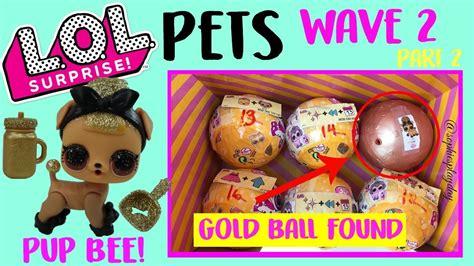 lol surprise pets wave  series  gold ball hack