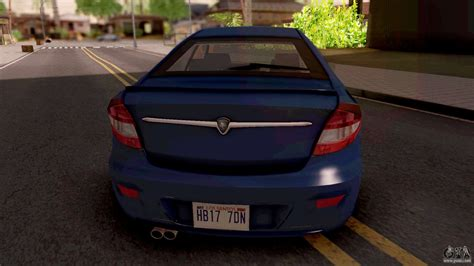 Proton Persona Elegance 3.0 Sport Edition for GTA San Andreas