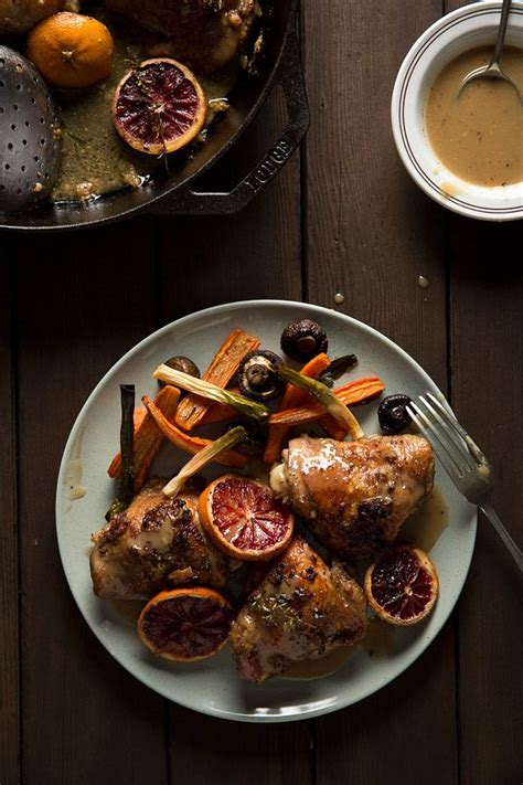 Blood Orange Roasted Chicken