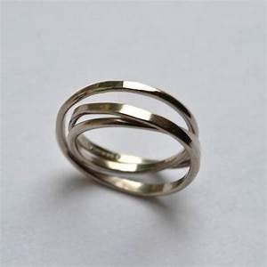 handmade white gold cosmic wedding ring by fran regan With handmade wedding rings