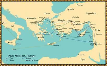 St Paul Travels Apostle Acts Antioch Map
