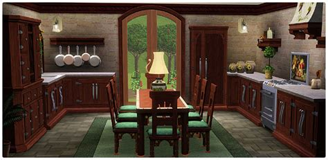 sims 3 ps3 kitchen ideas mediterranean villa kitchen dining store the sims 3