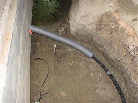 Verlegen Einer Kaltwasserleitung by Isolierung Der Hauswasserleitung