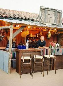 have an outdoor cantina style open bar for your wedding With stylized your outdoor bar with outdoor bar ideas