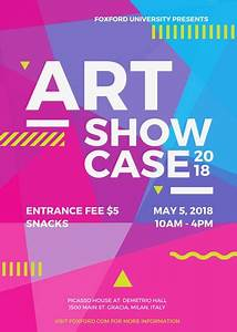 Art Event Flyer - Templates by Canva