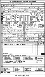 Vehicle Accident Police Report Form