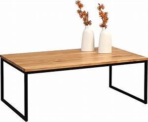 Couchtisch Holz Schwarz : hometrends4you 264222 couchtisch holz wildeiche massiv ge lt metall schwarz matt 110 x 60 ~ Frokenaadalensverden.com Haus und Dekorationen