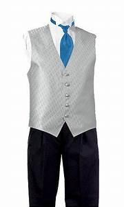 Al S Formal Wear Crabby 39 S Wear Silver Vest Marine Blue Tie Black Pants