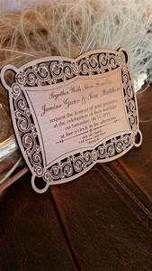 custom wood wedding invitation engraved wedding With unusual rustic wedding invitations