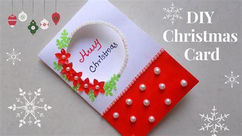 diy christmas greeting cardhow   christmas card