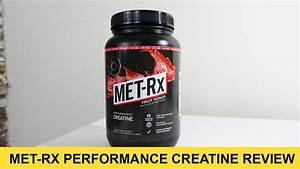 Met-rx Performance Creatine Review