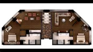 Two Bedroom Suite Las Vegas Strip by Mgm Skyline Marquee Suite Youtube