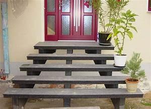Granit Treppenstufen Außen : offene au entreppe aus granit aussentreppe treppe und waschbeton ~ A.2002-acura-tl-radio.info Haus und Dekorationen