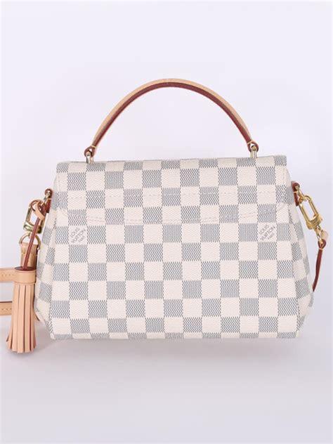louis vuitton croisette damier azur canvas luxury bags
