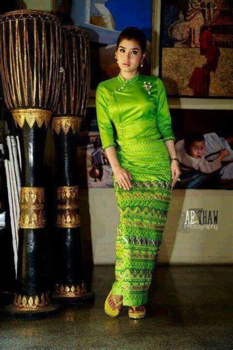 myanmar celebrity melody myanmar traditional dress